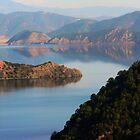 Lugu Lake in winter by bfokke