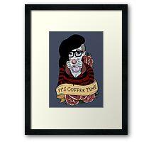 It's Coffee Time (Marceline) Framed Print