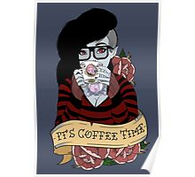 Adventure Time - It's Coffee Time (Marceline) Poster