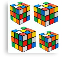 Rubiks Cuboid Canvas Print