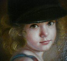 Blake at 3 by Cathy Amendola