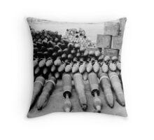 Ammo boxes & RPGs Throw Pillow