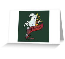 Horse Lords Greeting Card