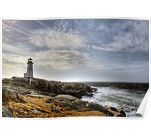 Peggy's Cove Lighthouse, Nova Scotia Poster