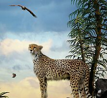 She Watches The Eagles by Lisa  Weber