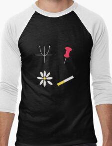 John Green Symbols Men's Baseball ¾ T-Shirt