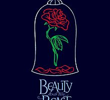 The Rose - The Beauty and The Beast (Disney) by markomellark