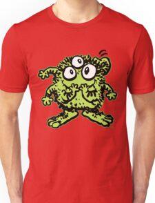 Cute Cartoon Green Monster by Cheerful Madness!! Unisex T-Shirt