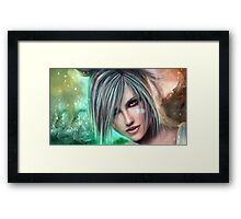 Beautiful work about riven Framed Print
