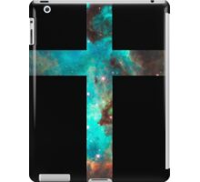Green Galaxy Cross iPad Case/Skin