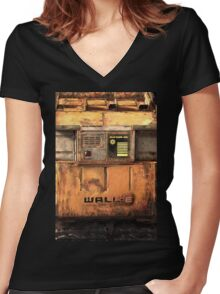 Waste Allocation Load Lifter – Earth Class (WALL E) Women's Fitted V-Neck T-Shirt