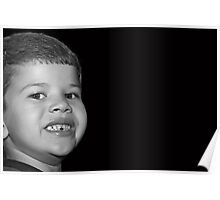 A Childs Smile Poster