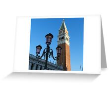 The Campanile of St. Mark Greeting Card