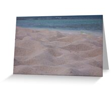 Sand Hills Greeting Card