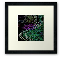Questionable Reality Framed Print