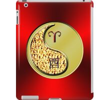 Aries & Rooster Yin Metal iPad Case/Skin