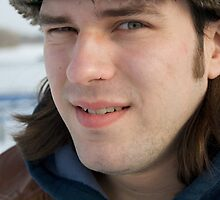 Tim up close by Andrew Boysen