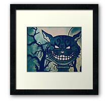 Cheshire Cat Framed Print
