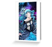 Tardis-Girl Greeting Card