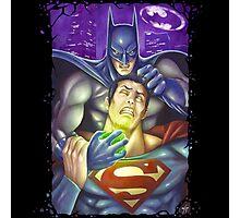Batman vs Superman Photographic Print