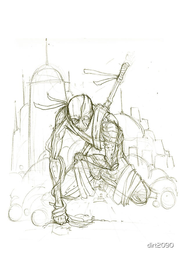 Smoker V.2 sketch by dirt2090