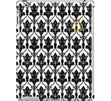221b Baker St Wallpaper (2 of 2) iPad Case/Skin
