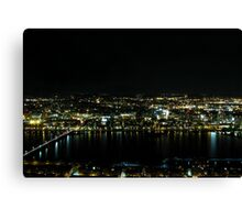 Boston Nights Canvas Print