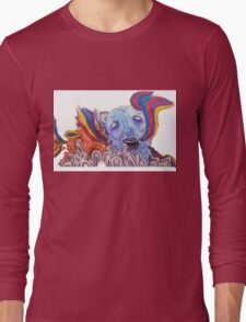 The Sea of Air (Portugal. The Man Inspired Art) Long Sleeve T-Shirt