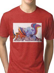 The Sea of Air (Portugal. The Man Inspired Art) Tri-blend T-Shirt