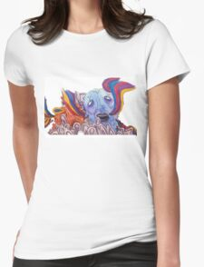 The Sea of Air (Portugal. The Man Inspired Art) Womens Fitted T-Shirt