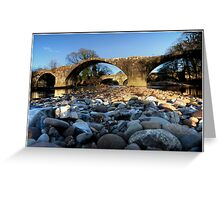 Stones eye view!! Greeting Card