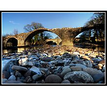 Stones eye view!! Photographic Print