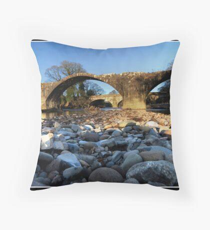 Stones eye view!! Throw Pillow