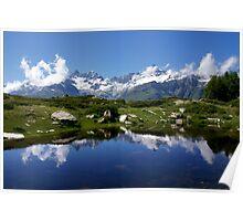 Mountain Lake Switzerland Poster