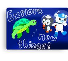 Explore, Rescue, Protect! Canvas Print