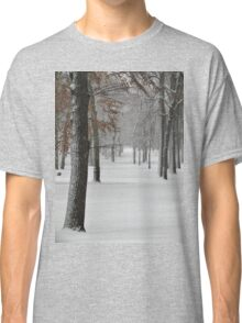Snowy day in New York City  Classic T-Shirt