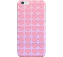 Pink to Purple Gradient Heart iPhone Case/Skin
