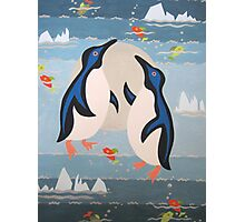 Penguin Pair Photographic Print