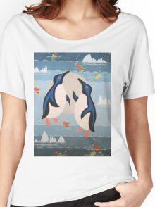 Penguin Pair Women's Relaxed Fit T-Shirt