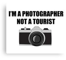 Photographer Canvas Print