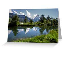 Matterhorn Reflections Greeting Card