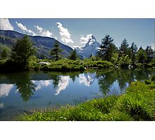 Matterhorn Reflections Photographic Print