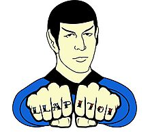 Spock Fist Tattoos Photographic Print