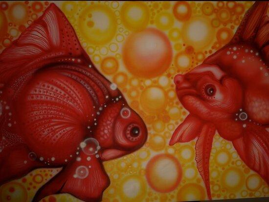 GOLD FISH by DDSemar