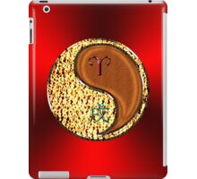 Aries & Dog Yang Wood iPad Case/Skin