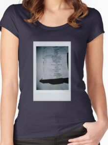 The 1975 Setlist Women's Fitted Scoop T-Shirt