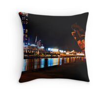 Crown Casino  Throw Pillow