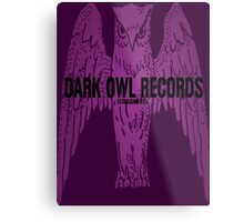 Dark Owl Records Metal Print