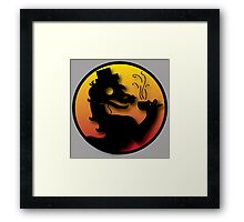 Civilized Kombat Framed Print