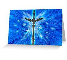 Fantasy sword   Greeting Card